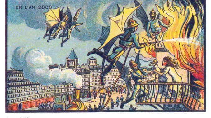 100 anni fa venne chiesto agli artisti di raffigurare l'anno 2000. Ecco il risultato