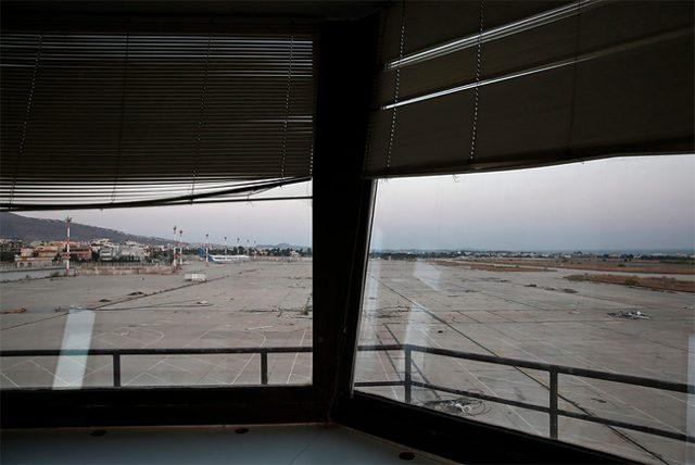 aeroporto abbandonato