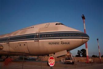 Anche gli aerei sono stati lasciati dove si trovavano.