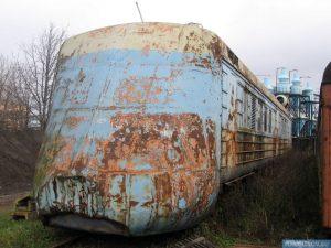 Il retro del treno