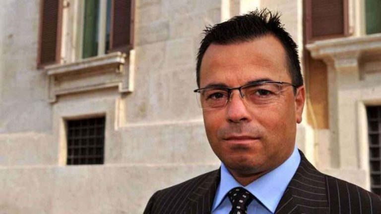 Il defunto europarlamentare leghista Gianluca Buonanno