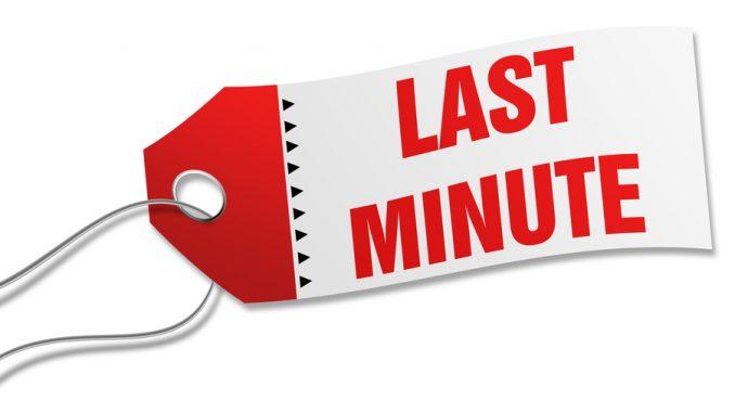 cancellare prenotazione last minute