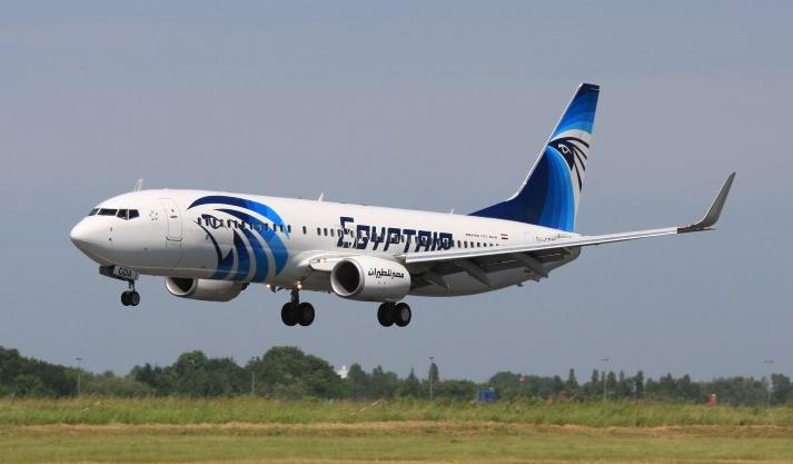Un Airbus Egyptair simile a quello del volo MS804 inabissatosi il 19 Maggio scorso