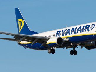 Un velivolo Ryanair