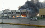 incendio causato dal fulmine