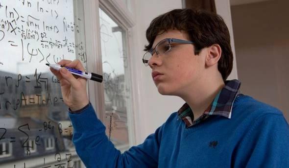 Il piccolo genio della matematica Jacob Barnett