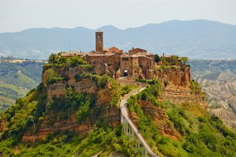Old town of Bagnoregio