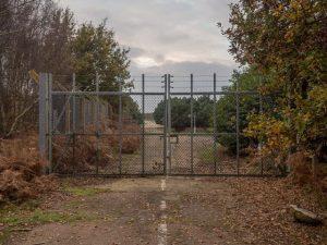 raf woodbridge abandoned east gate