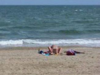 sesso in spiaggia