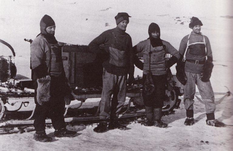 spedizione nella neve