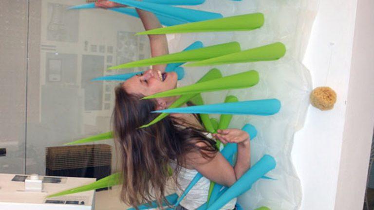 spiky: tendina da doccia spinosa