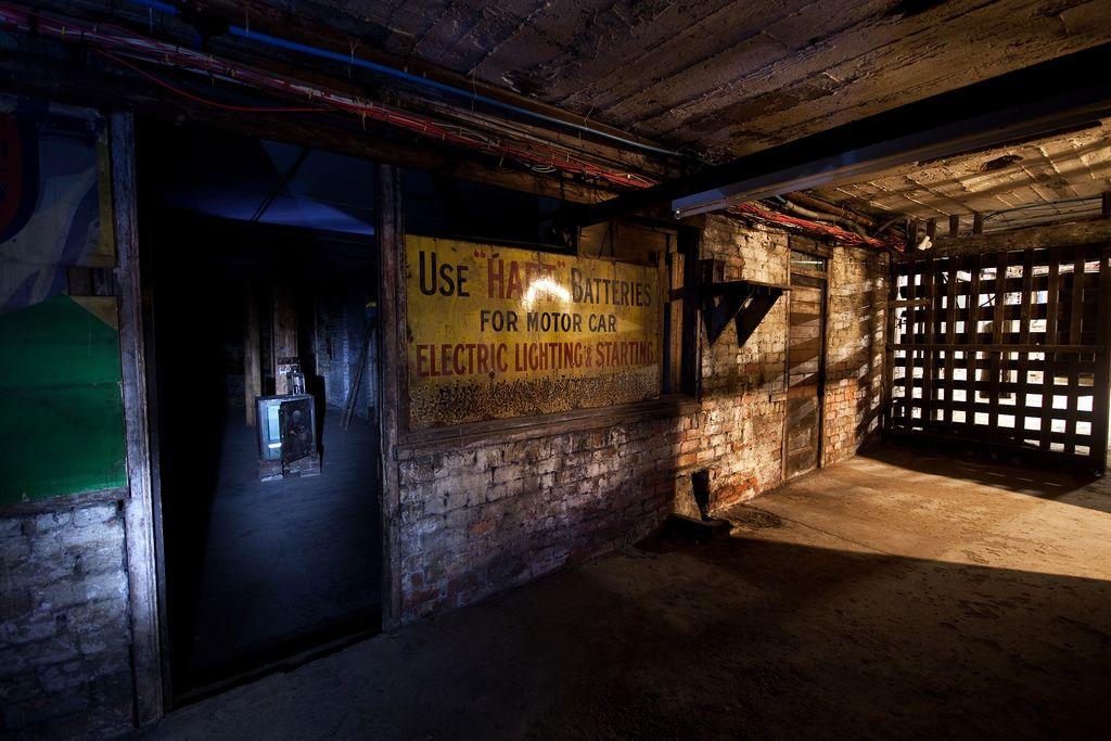 subterranean street royal arcade keighley