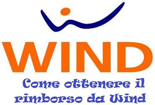 richiesta rimborso wind