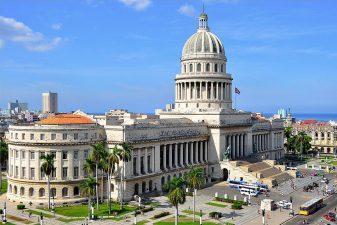 Il Campidoglio dell'Avana, a cui non sono arrivate notizie della nave da 90 anni.