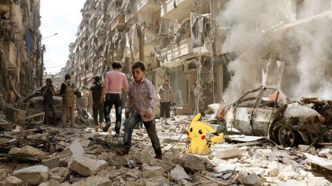 Pokemon Go in Syria