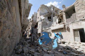 Pokemon Go in Syria la distruzione della guerra e la realtà aumentata