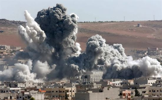 Bombardamento ospedale Siria