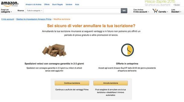 Come Disattivare Amazon Prime Notizie It