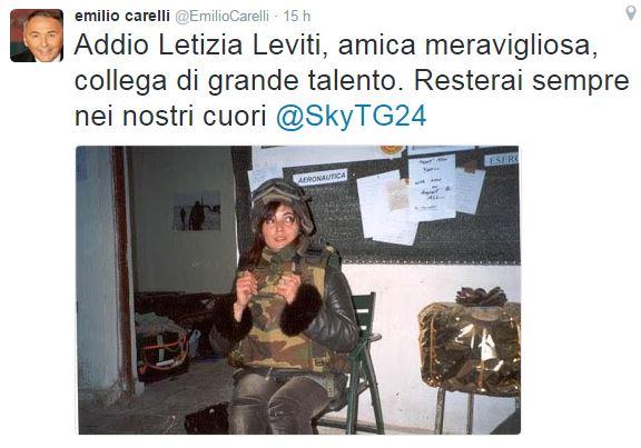 Emilio Carelli Tweet