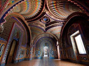 Una diversa prospettiva del Castello di Sammezzano