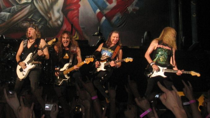 iron maiden trieste
