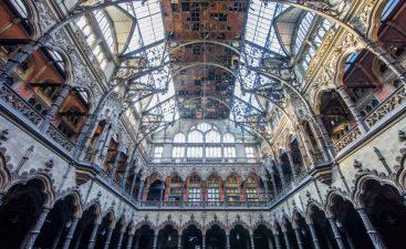 Sempre in Belgio, un vecchio edificio adibito a mercato.
