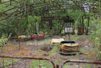 Pripyat aveva un famoso parco giochi, oggi considerato uno dei luoghi abbandonati più belli del mondo.