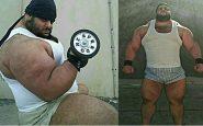 Real-Life-Hulk-Sajad-Gharibi-an-Iranian-power-lifter-news-on-hunt