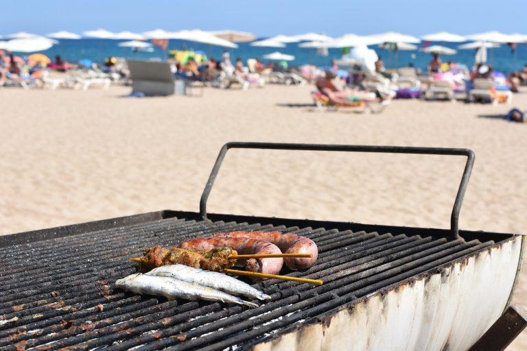 mangiare bene in spiaggia