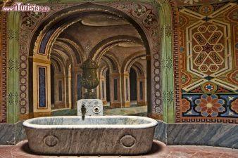 Una vasca caratteristica, Castello di Sammezzano