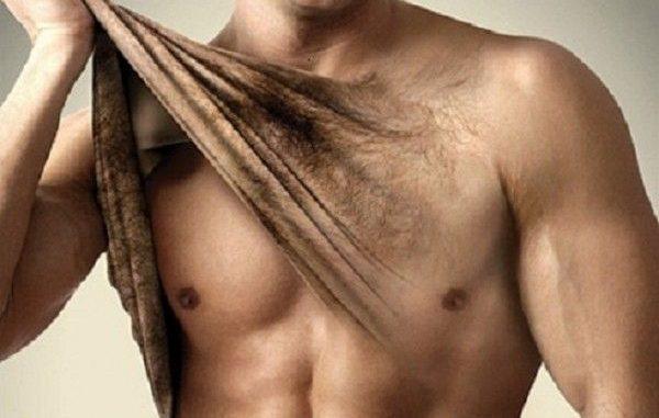 depilazione uomo: definitiva o normale inguine o petto