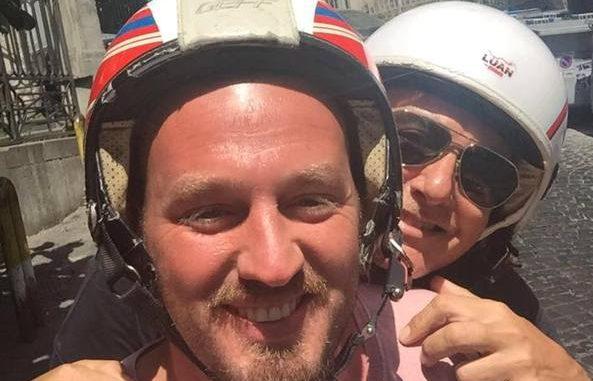 STEFANO GABBANA IN TOUR PER NAPOLI CON SALVATORE VOLO.