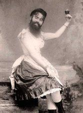 donna barbuta