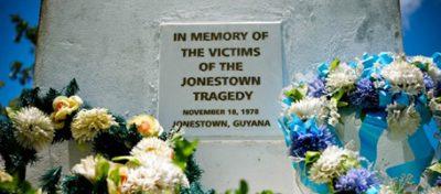 jonestown memoriale