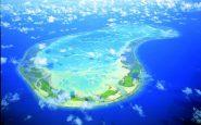 Kiribati vista aerea
