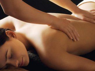 massaggio californiano schiena