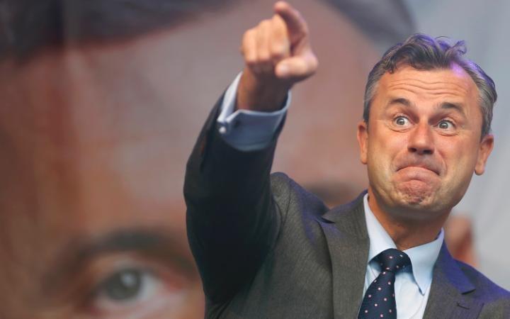 norbert hofer elezioni in austria