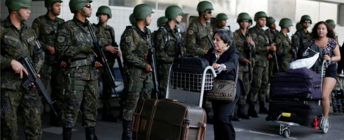 olimpiadi brasile sicurezza