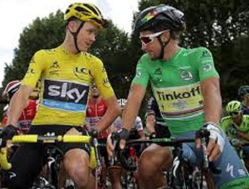 Tour de France: spettacolare duello Sagan- Chris Froome