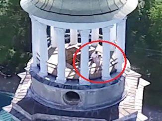 sesso sul campanile