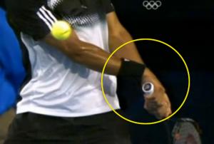 Qual è impugnatura per rovescio bimane tennis