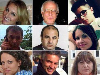Puglia, via crucis per i parenti delle vittime