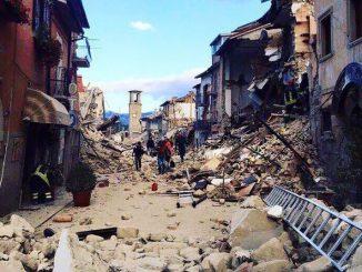 Amatrice terremoto oggi