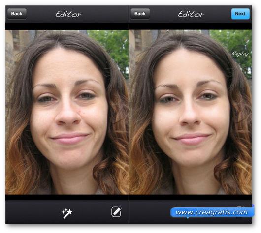 App per migliorare pelle con imperfezioni