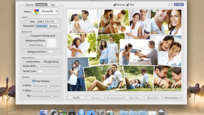 Come fare collage foto per mac