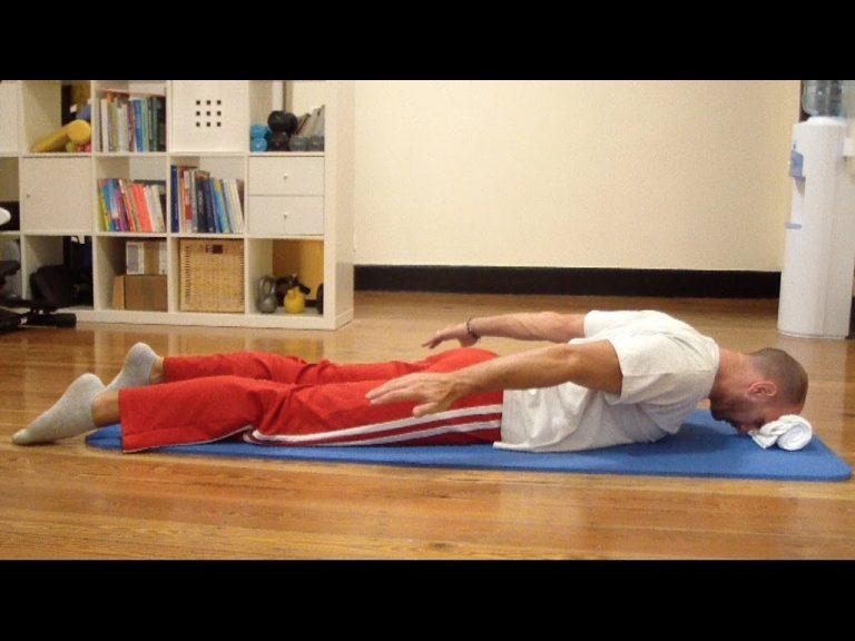Esercizi per ginnastica posturale in casa
