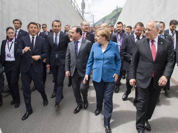 I leader dell'Unione Europea si incontrano su una isola italiana per parlare di Brexit