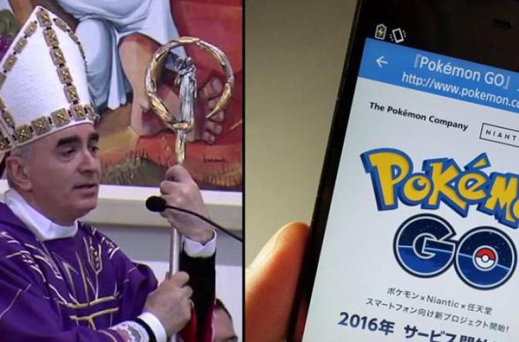 Il vescovo di Noto si scaglia contro Pokemon Go definendolo inaccettabile