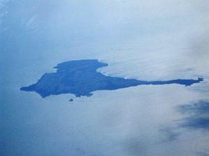 """L'isola era anche chiamata """"triangolo"""", per la sua forma."""