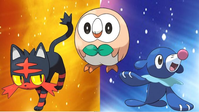 Pokemon sole e luna: trailer, uscita, starter, pokedex